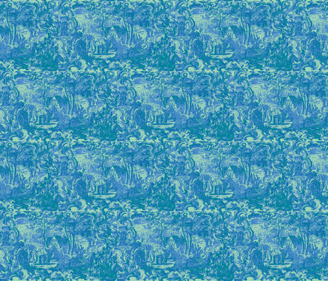 The Tents of Haran fabric by amyvail on Spoonflower - custom fabric