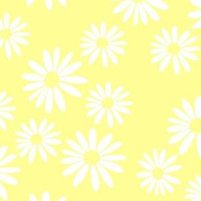 White Daisies, Yellow