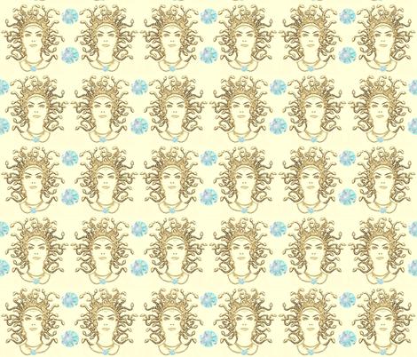 MEDUSA'S GEMS fabric by bluevelvet on Spoonflower - custom fabric