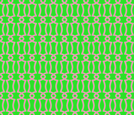 washedgreentrellis fabric by tailofthedog on Spoonflower - custom fabric
