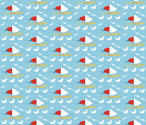 Darling8-ed fabric by ruthjohanna on Spoonflower - custom fabric