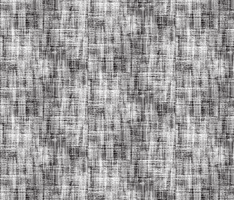 Hack hack hack black and white fabric by susiprint on Spoonflower - custom fabric