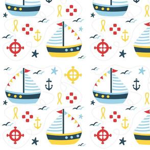 sailing bleu