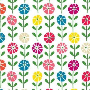 Geo Flowerbed multi-colored