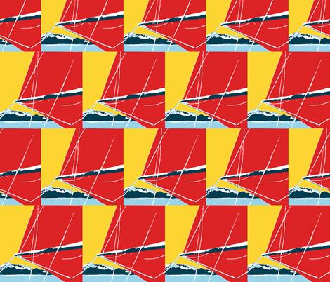 spinnaker fabric by suebeerice on Spoonflower - custom fabric