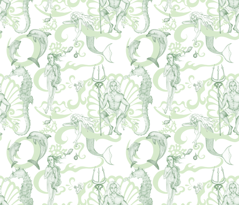 poseidon_s_throne fabric by wendy_seese on Spoonflower - custom fabric