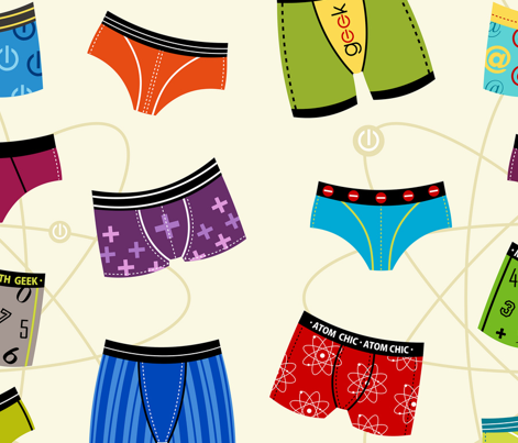 Atomic Wedgie = (Science Geek Underwear)