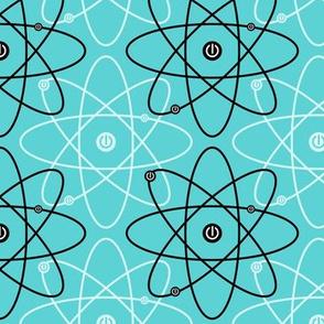 Atom-ized ~ Blue