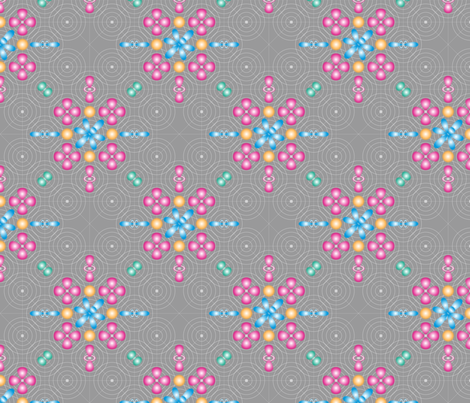 Cloudy, with a Chance of Electrons fabric by jjtrends on Spoonflower - custom fabric