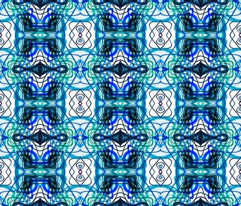 Neon_Pinstripes1_B_X fabric by k_shaynejacobson on Spoonflower - custom fabric