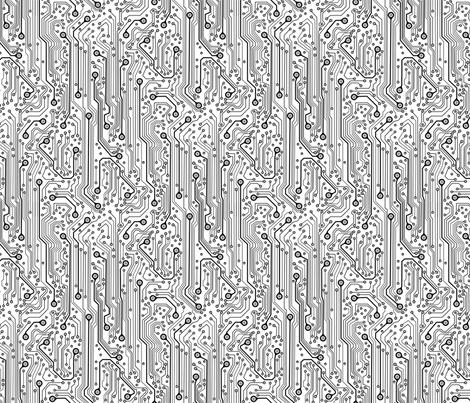 CircuitBoard_B_Wrev150 fabric by mjmontana on Spoonflower - custom fabric