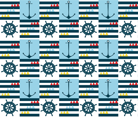 come_sail_away2 fabric by reginamartinedesign on Spoonflower - custom fabric