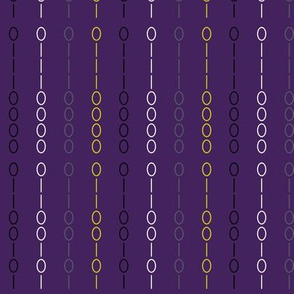 Binary Stripe Purple