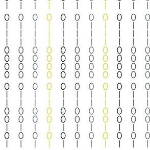Binary Stripe White