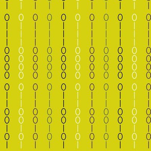 Binary Stripe Green