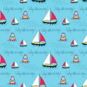Sailing takes me away
