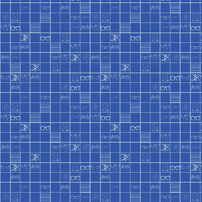 Sudoku Goes Geek in Blue