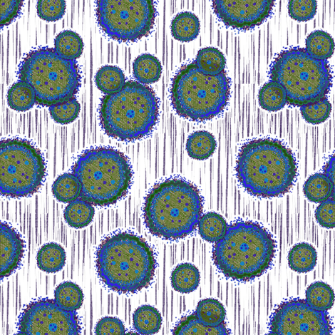 microscopic 8 fabric by glimmericks on Spoonflower - custom fabric