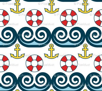 Sailing, Sailing, On the Ocean Blue