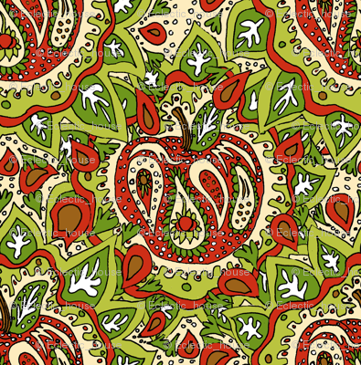 Paisley Apple synergy0002