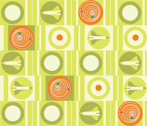 BinarySolarSystem01 fabric by fleureche on Spoonflower - custom fabric