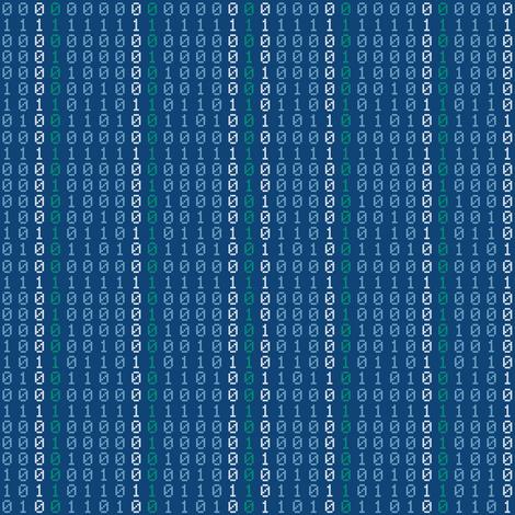 Binaries fabric by shelleymade on Spoonflower - custom fabric