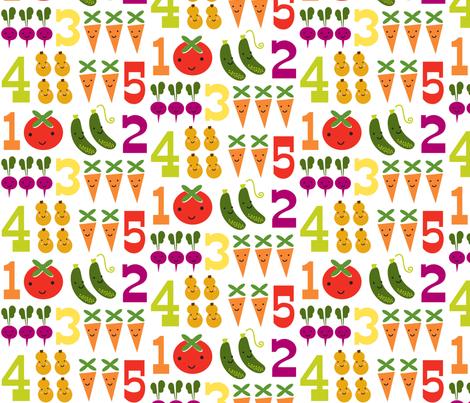 5veggies fabric by shindigdesignstudio on Spoonflower - custom fabric