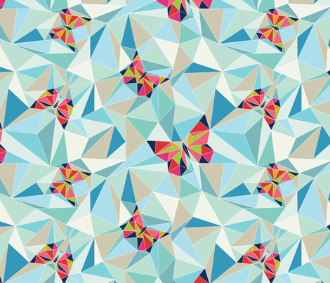 Fractured_flutters fabric by annamariegalvin on Spoonflower - custom fabric
