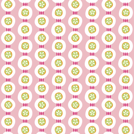 Citrus Buttons fabric by jillbyers on Spoonflower - custom fabric