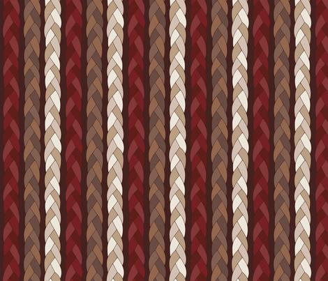 BRAID fabric by loopy_canadian on Spoonflower - custom fabric