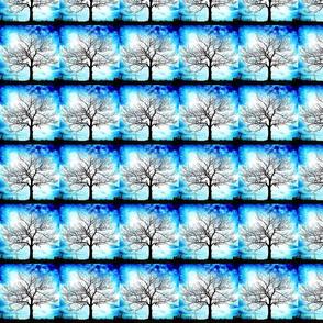 Trees in Blue basic