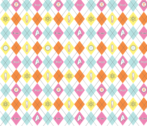 argyle_geek fabric by paintedstudioartdesign@gmail_com on Spoonflower - custom fabric