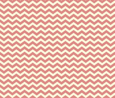 Chevron_Rose fabric by lana_gordon_rast_ on Spoonflower - custom fabric