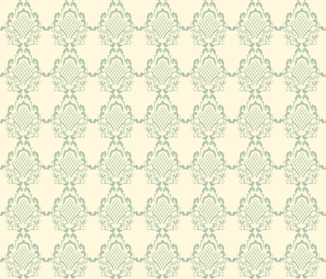 Damask_Jade fabric by lana_gordon_rast_ on Spoonflower - custom fabric