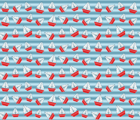 Simply Sailing fabric by madex on Spoonflower - custom fabric