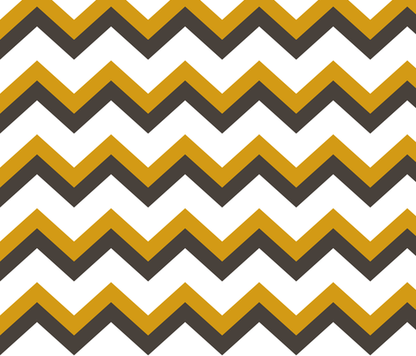 Ziggy Mustard Chic fabric by natitys on Spoonflower - custom fabric