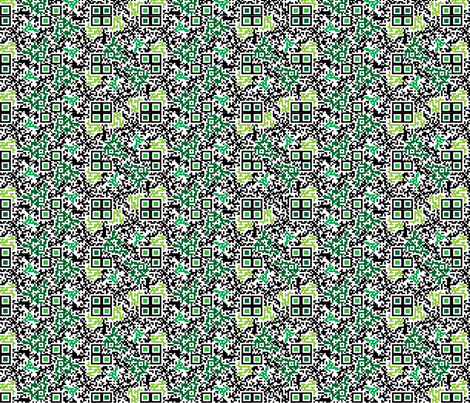 Geek Chic Fabric8 entry fabric by moxieart on Spoonflower - custom fabric