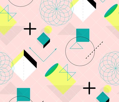 spirographic fabric by kateaurelia on Spoonflower - custom fabric