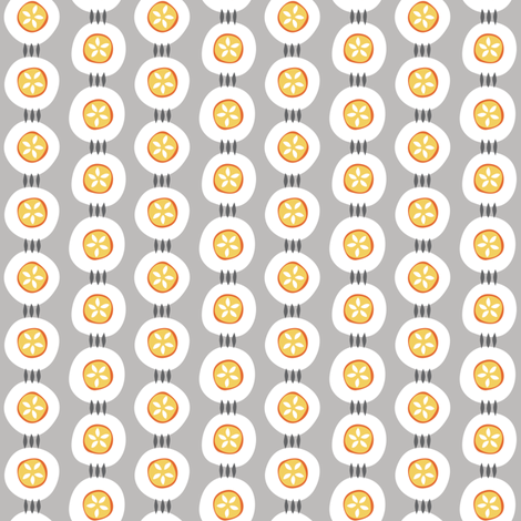 Citrus Buttons fabric by jillbyers on Spoonflower - custom fabric