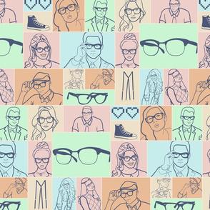 Glasses Fashion is Geek Chic
