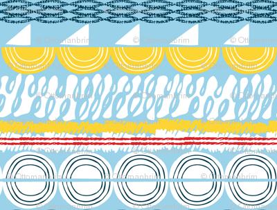 rolling seas