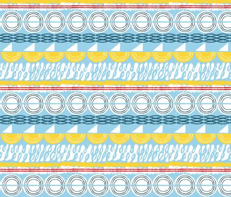 rolling seas fabric by ottomanbrim on Spoonflower - custom fabric