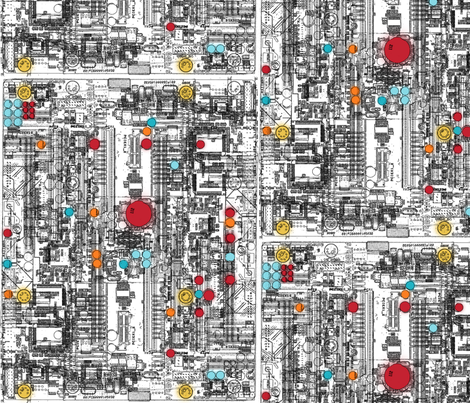 motherboard-C fabric by melhales on Spoonflower - custom fabric