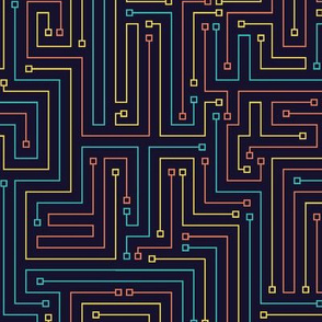 Iridescent Circuitry