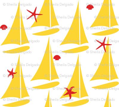 Yellow sails