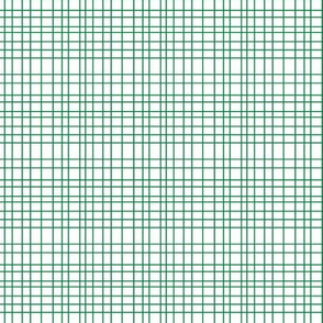 Random Plaid - Green