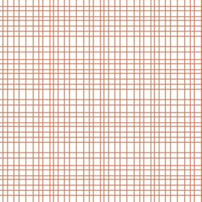 Random Plaid - Orange