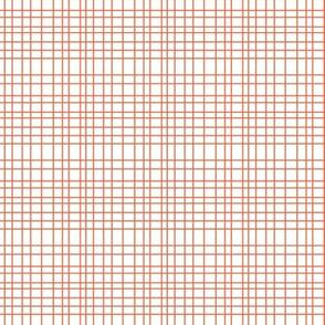 Random Plaid - Orange