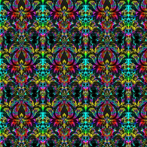 Psychedelic Damask
