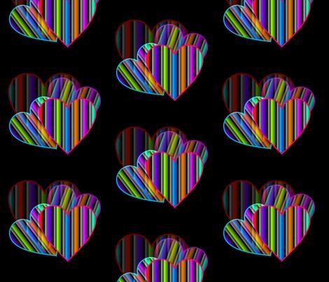 Focus On Love fabric by charldia on Spoonflower - custom fabric